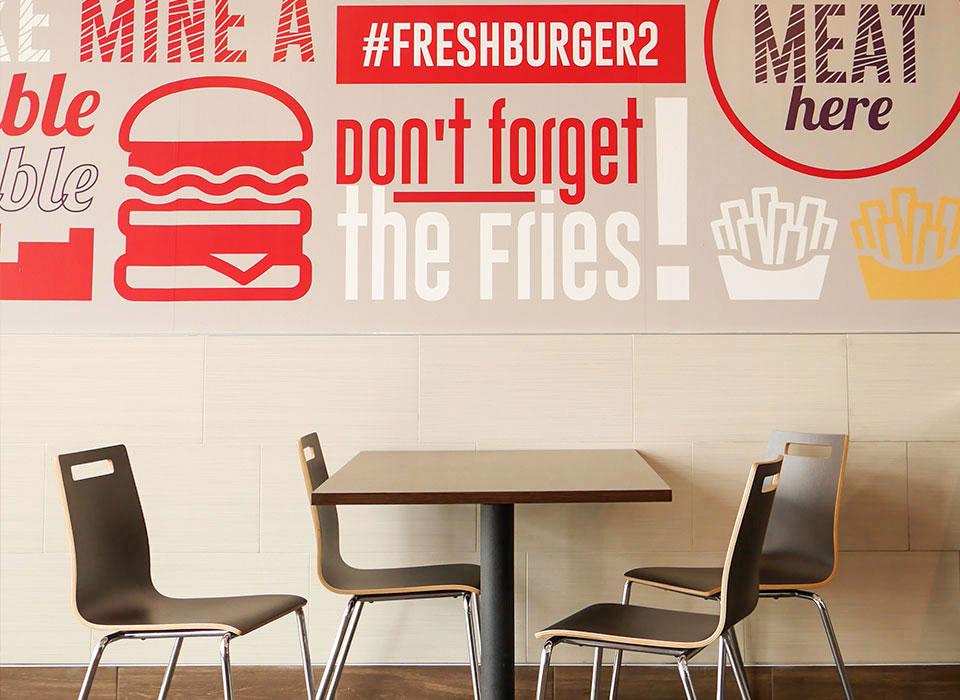 Freshburger Home tille
